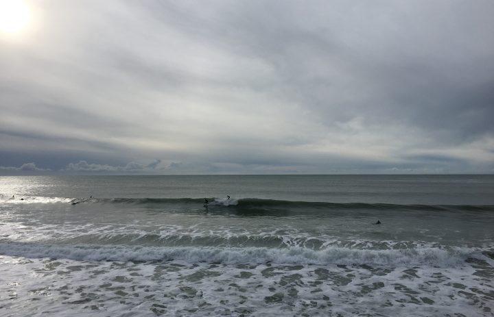 Praa Sands surfing