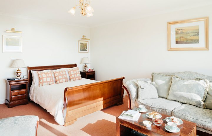 Trebah Bedroom and Living Room Praa Sands